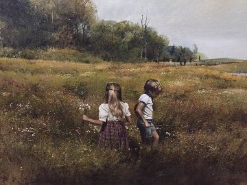 Roaming 1980 35x41 Original Painting by Adolf Sehring