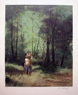 Summer Woods PP 1978 Limited Edition Print by Adolf Sehring - 2