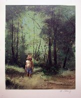 Summer Woods PP 1978 Limited Edition Print by Adolf Sehring - 1