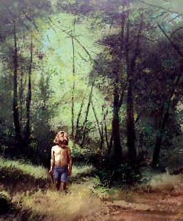 Summer Woods PP 1978 Limited Edition Print by Adolf Sehring