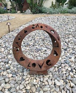 Infinite Love Ceramic Unique Sculpture 2008 18 in Sculpture by Charles Sherman