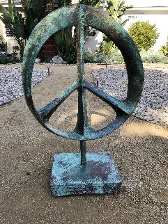 Infinite Peace Ceramic Sculpture 2017 37 in Sculpture by Charles Sherman