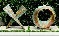 Love Letters Unique Ceramic 40x 85 in Sculpture - Charles Sherman