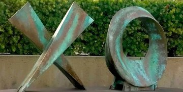 Love Letters Unique Ceramic 40x 85 in Sculpture by Charles Sherman