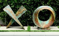 Love Letters Ceramic and Copper Sculpture 2020 80 in Sculpture by Charles Sherman - 0