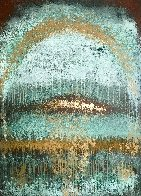 Copper Cathedral 2020 44x32 Huge Original Painting by Charles Sherman - 0