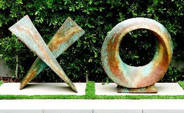 Love Letters Mixed Media Ceramic Sculpture Set of 2  40x80 - Huge Sculpture - Charles Sherman