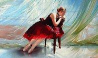 Breeze  36x60 Super Huge Original Painting by Alexander Sheversky - 0