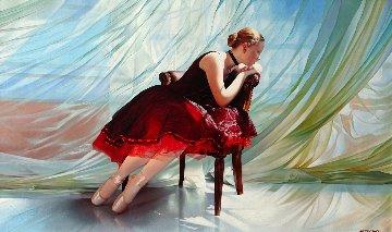 Breeze  36x60 Huge Original Painting - Alexander Sheversky