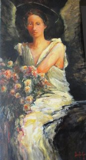 Virtue 2006 48x24 Original Painting - Stephen Shortridge