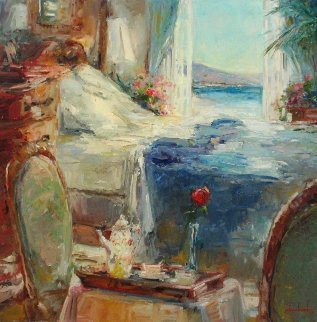 Great Morning 2006 30x30 Original Painting by Stephen Shortridge