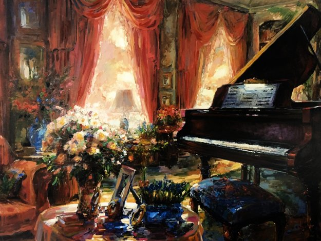 Private Recital 2002 Embellished Limited Edition Print by Stephen Shortridge