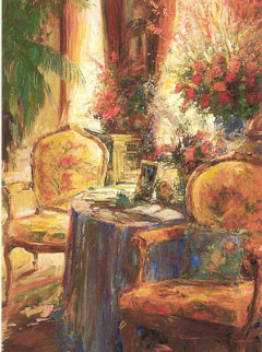 Quiet Time Embellished 2002 Limited Edition Print - Stephen Shortridge