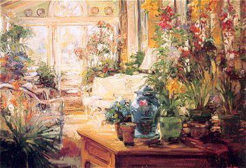 Garden Room Embellished 2012 Limited Edition Print - Stephen Shortridge