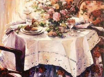 Tea And Romance AP Limited Edition Print by Stephen Shortridge