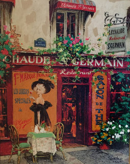 St. Germain Embellished 2008 Limited Edition Print by Viktor Shvaiko