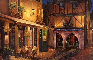Twilight At Troy 1999 Limited Edition Print by Viktor Shvaiko