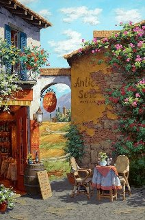 Il Giardino Toscano Embellished 2008 Limited Edition Print by Viktor Shvaiko