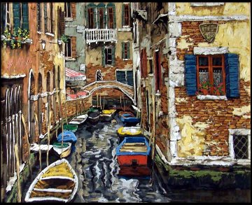 Venice Suite of 2 Prints 2000 Limited Edition Print - Viktor Shvaiko