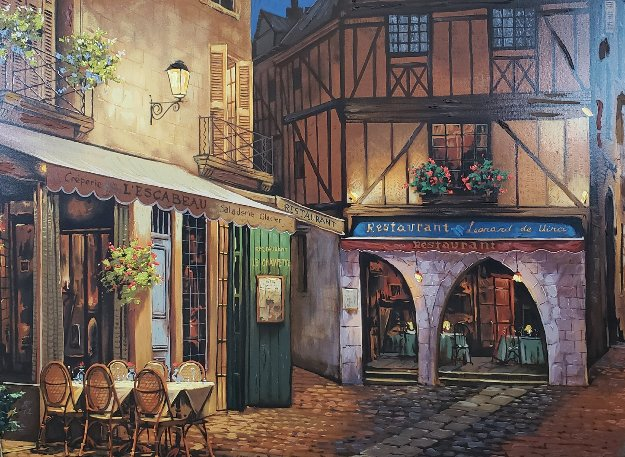 Twilight At Troy 1998 Limited Edition Print by Viktor Shvaiko