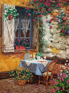 Garden Lace AP 2002 Limited Edition Print by Viktor Shvaiko