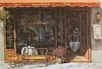 Cafe Nightbird Black 1996 Limited Edition Print by Viktor Shvaiko