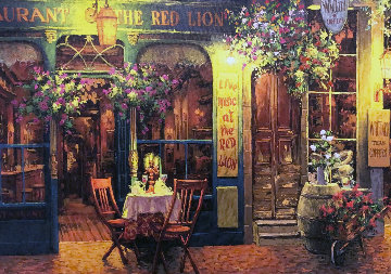 Red Lion 2008 Limited Edition Print - Viktor Shvaiko