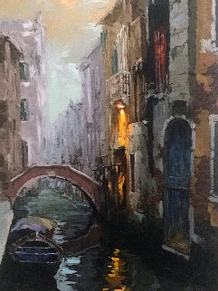 Morning Mist in Venice AP 2015 Embellished Limited Edition Print by Viktor Shvaiko