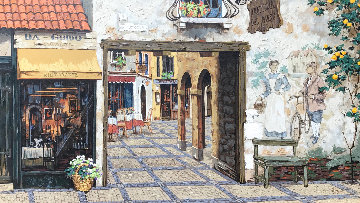 Via Leccossa 1997 Embellished Limited Edition Print by Viktor Shvaiko