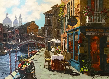 Venice El Fresco  Embellished 2016 Limited Edition Print by Viktor Shvaiko