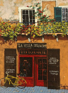 La Villa Miranda 2000 Embellished Limited Edition Print by Viktor Shvaiko
