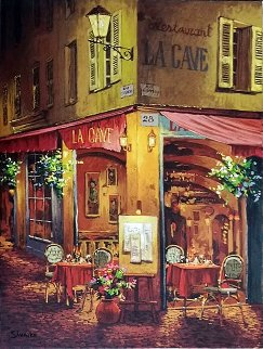 Dinner a La Cave PP Limited Edition Print by Viktor Shvaiko