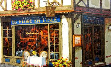 Rendezvous Le Flore En l'isle: Les Bijoux De Paris Suite PP Limited Edition Print - Viktor Shvaiko