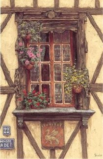 Windows Suite: Windows of France  PP Limited Edition Print - Viktor Shvaiko