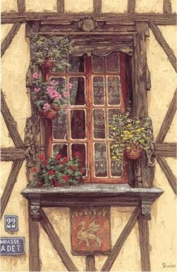 Windows Suite: Windows of France  PP Limited Edition Print by Viktor Shvaiko