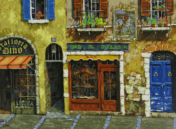 Mediterranean Suite: Buon Giorno PP Limited Edition Print by Viktor Shvaiko