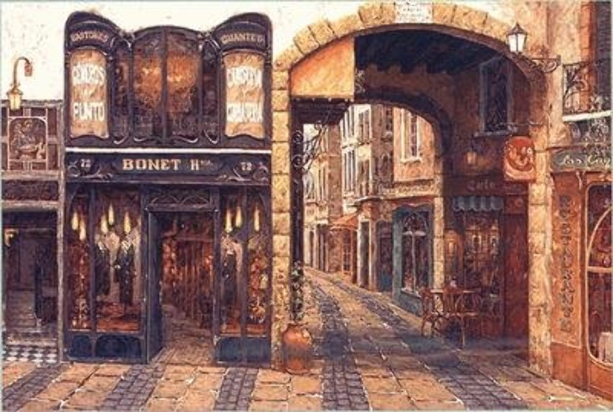 Carrer De Catalonia PP Limited Edition Print by Viktor Shvaiko