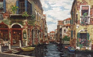 Dreams of Venice PP 2001 Huge Limited Edition Print - Viktor Shvaiko