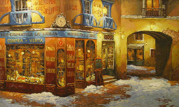 Light on the Snow PP Limited Edition Print by Viktor Shvaiko