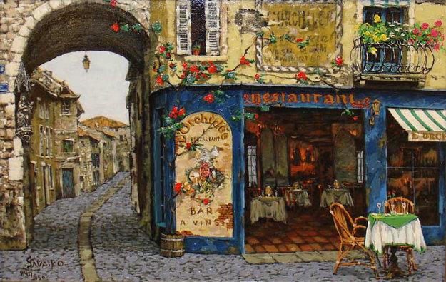 Les Bijoux De Provence Suite: L'orchidee PP Limited Edition Print by Viktor Shvaiko