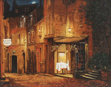 Moonrise At the Rodez PP Limited Edition Print by Viktor Shvaiko
