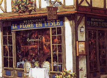 Le Bijoux de Paris: Rendezvous Le Flore En l'isle PP Limited Edition Print - Viktor Shvaiko