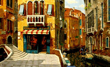 Sunny Day in Venice PP 1998 Limited Edition Print by Viktor Shvaiko