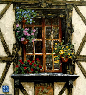 Windows of France PP Limited Edition Print - Viktor Shvaiko