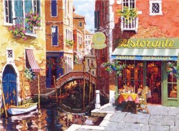 Rendezvous in Venice 2002 Limited Edition Print - Viktor Shvaiko