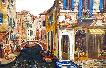 Autumn in Venice 1998 Limited Edition Print - Viktor Shvaiko
