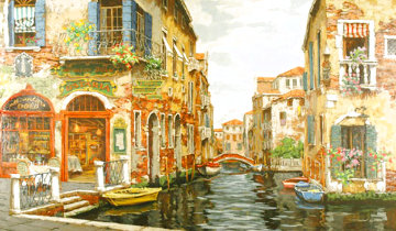 Dreams of Venice AP 2001 Embellished Limited Edition Print - Viktor Shvaiko