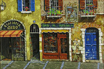 Bon Giorno 1999 Embellished Limited Edition Print by Viktor Shvaiko