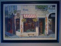 Le Relais AP 1999 Embellished Limited Edition Print by Viktor Shvaiko - 1
