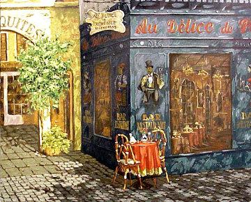 Afternoon Shadows 1999 Embellished Limited Edition Print - Viktor Shvaiko